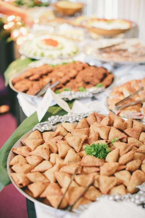 Food Wedding Appetizer Menu Weddingappetizer Indianwedding