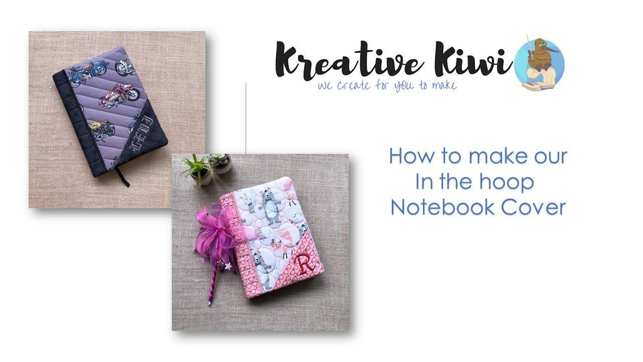 e04e5ec989ff5 HOW TO MAKE OUR IN THE HOOP NOTEBOOK COVER Brother Dream Machine