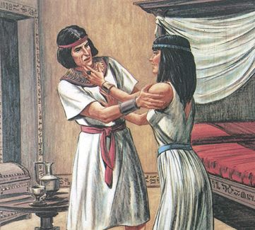 Chapter Joseph in Egypt-Old Testament Stories Joseph In Egypt, Bible Illustrations, Old Testament, The Bible Movie, Bible Stories, Ancient Civilizations, Statue, Closer, Artwork