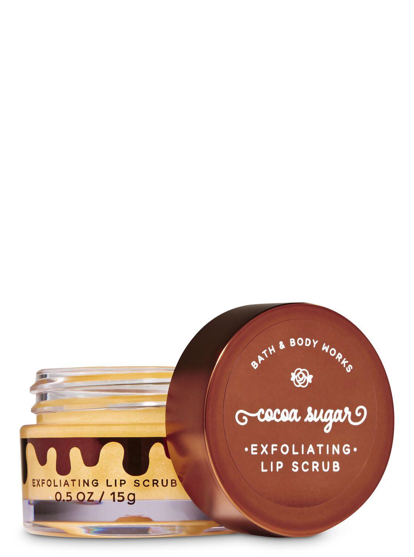 Cocoa Sugar Exfoliating Lip Scrub #lipscrubs