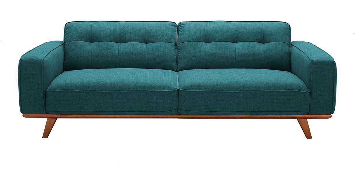 Annaliese Sofa Blue in 2019 | Maggies Condo | Sofa, Fabric ...