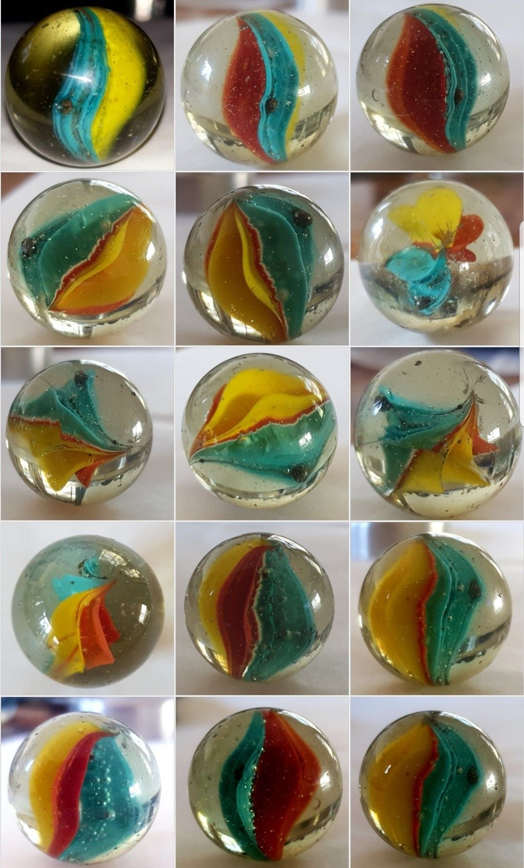 Multicolor cat's eye marbles (With images) Marble colors