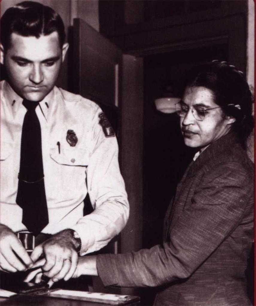 Rosa Parks Glossy Poster Picture Photo Arrested Civil Rights Bus