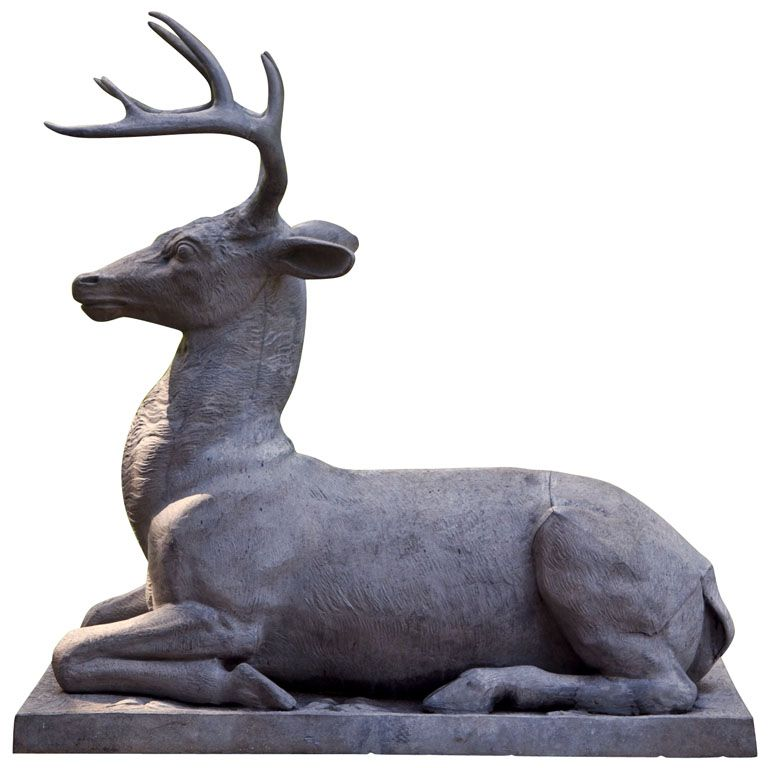 Garden Statue Of A Stag | From A Unique Collection Of Antique And Modern  Statues At