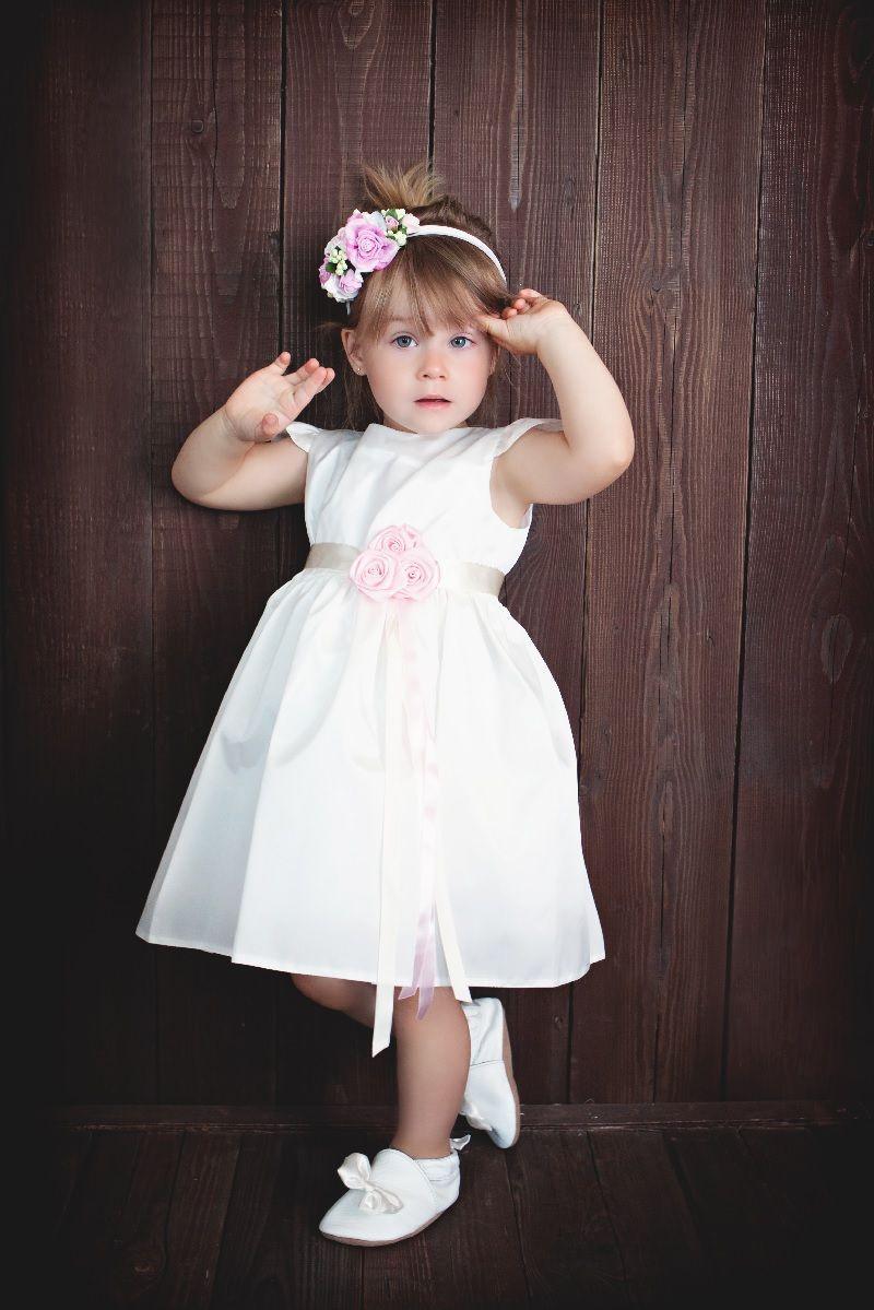 taufkleid victoria | blumenmädchen kleid, taufkleid, zur taufe