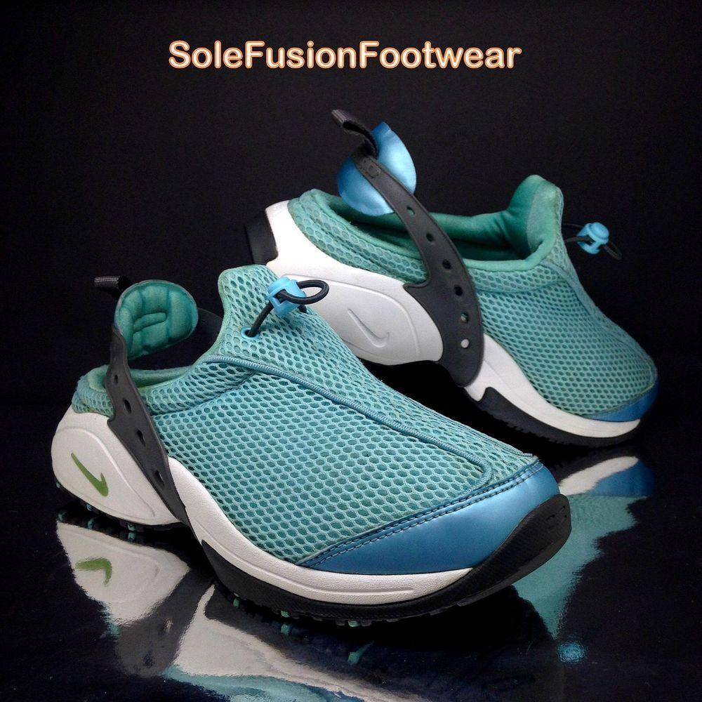 Nike Womens Air Visi Havoc Shoes Blue sz 7 Trainers Ladies