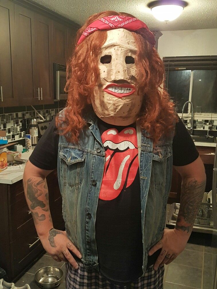 Wonderful Rocky Dennis Halloween Costume. 1985 Movie , Mask