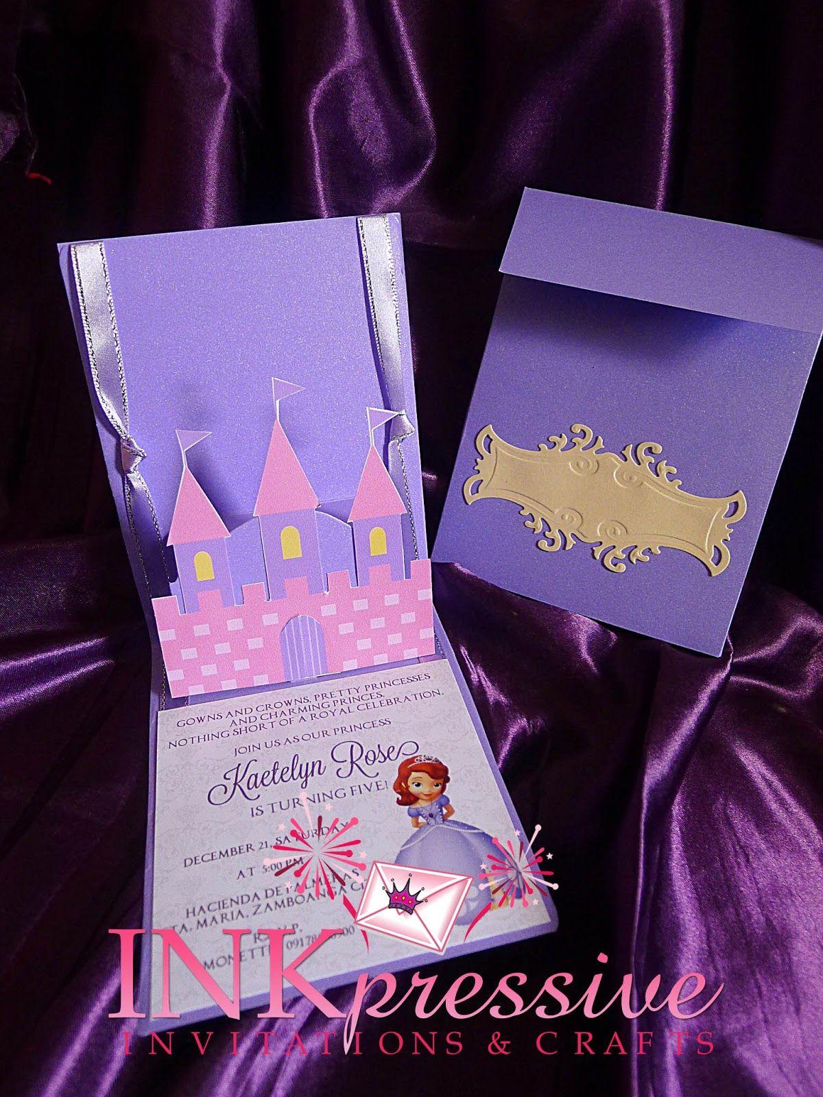 princess-sofia-invitation 1,200×1,600 pixels | ms mia's 3rd