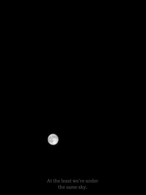قمر Art Wallpaper Iphone Night Aesthetic Under The Same Moon