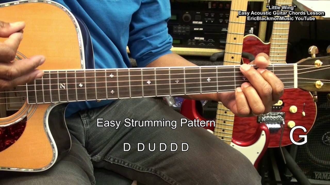 How To Play LITTLE WING For Dummies Jimi Hendrix EASY