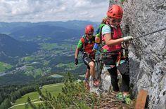 Klettersteig Jenner : Schützensteig klettersteig am kleinen jenner im berchtesgardener