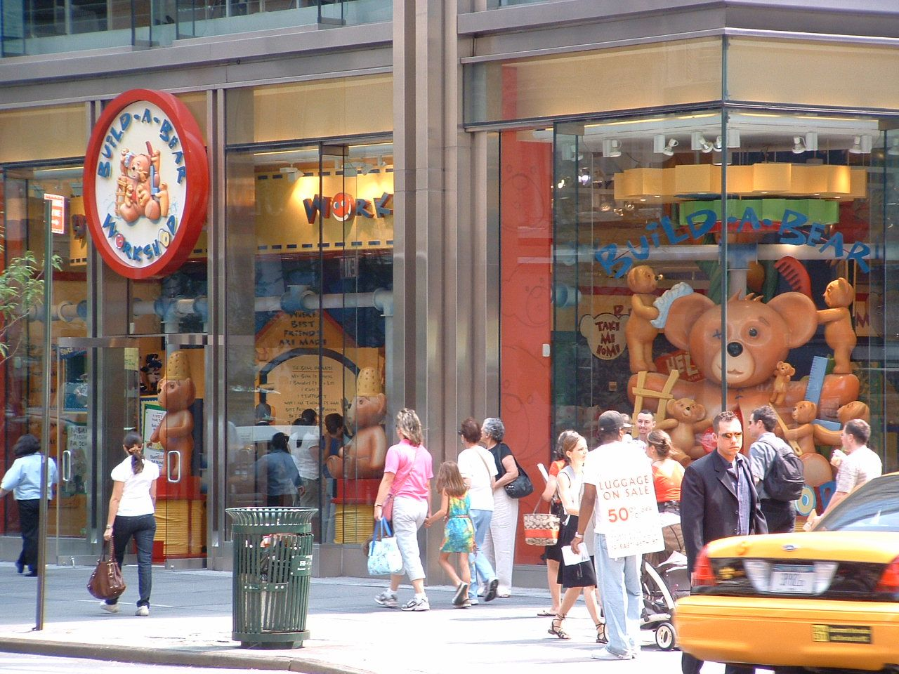 Build A Bear Workshop Location 565 Fifth Ave At 46th St