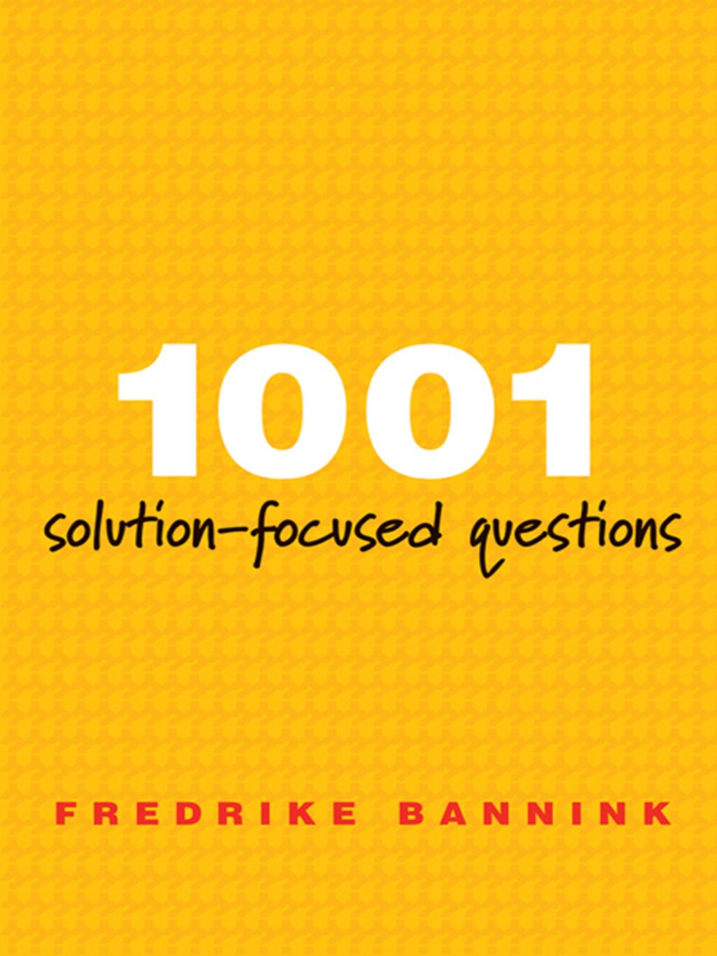 Solution Focused Questions Handbook For Solution