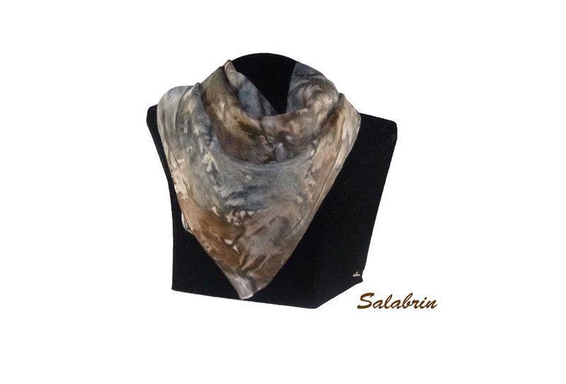 Seidenschals - Halstuch Damen - ein Designerstück von Salabrin bei DaWanda