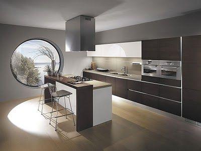 COCINAS INTEGRALES MODERNAS EN COLOR CHOCOLATE Kitchens, Kitchen - cocinas integrales modernas