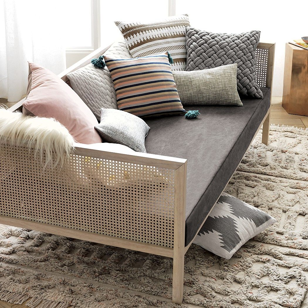 - Pillow Inspiration Sofa Styling, Rattan Daybed, Daybed Mattress