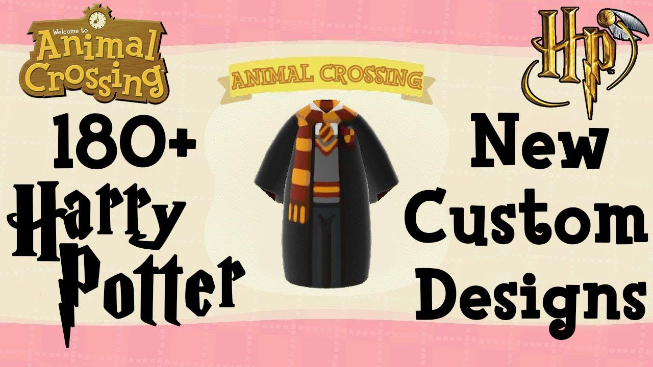 180 Harry Potter Animal Crossing New Horizons Custom Designs Creator Codes Animal Crossing Animal Crossing Qr Qr Codes Animal Crossing