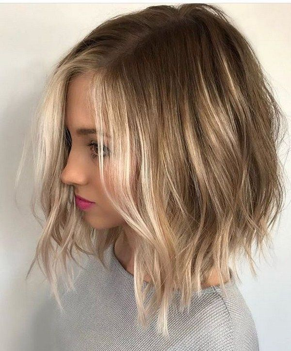 Модные стрижки на средние волосы 2020-2021: топ новинок ...