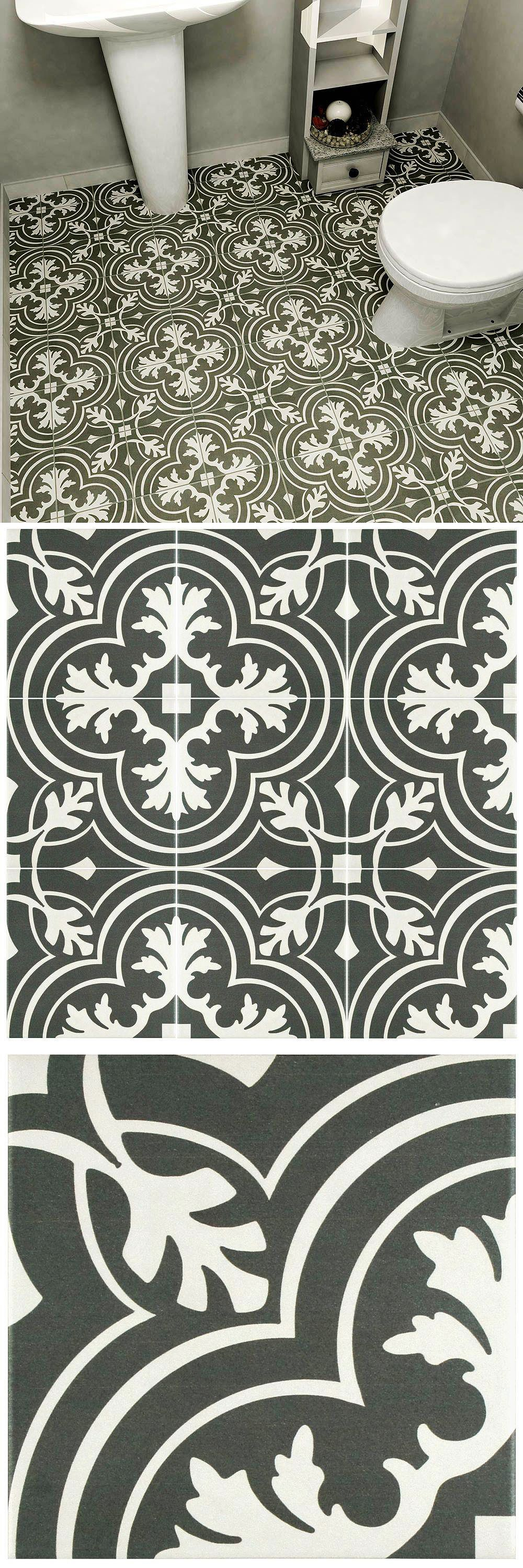 Merola Tile Twenties Classic Encaustic Ceramic Floor And Wall Tile 7 3 4 In X 7 3 4 In Tile