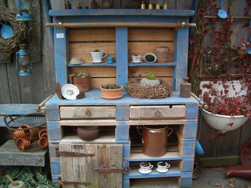 Outdoor Küche Europalette : Potting bench garden garten möbel und palette