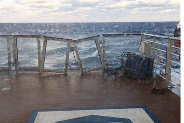 Royal Caribbean Cruise Ship Captain Blames The Weather Forecast For The Notorious Storm His Ship Encountered