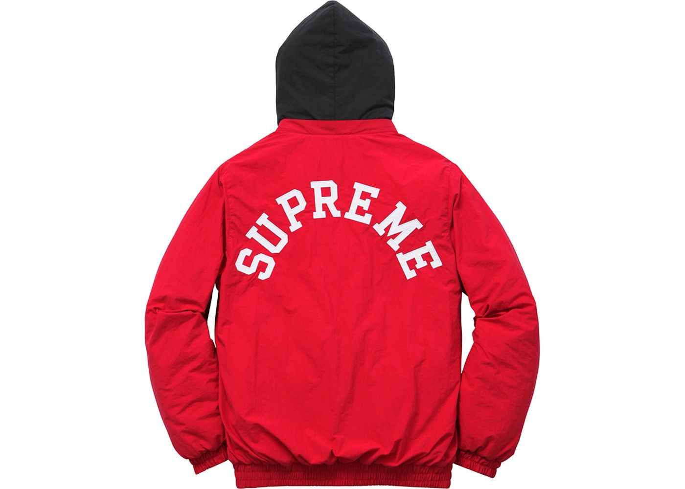 Supreme Champion Puffy Jacket Red In