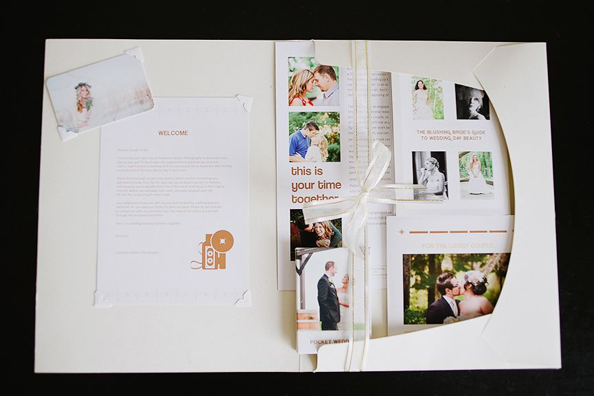 Wedding Photography Welcome Packet: Wedding Welcome Packet: Setting The Scene For A Complete