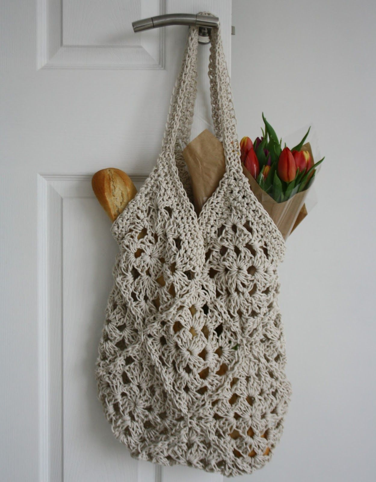 Crochet String Bagtales From A Happy House The 8th Gem Bonia Red Quilted Honeycomb Purse Merah