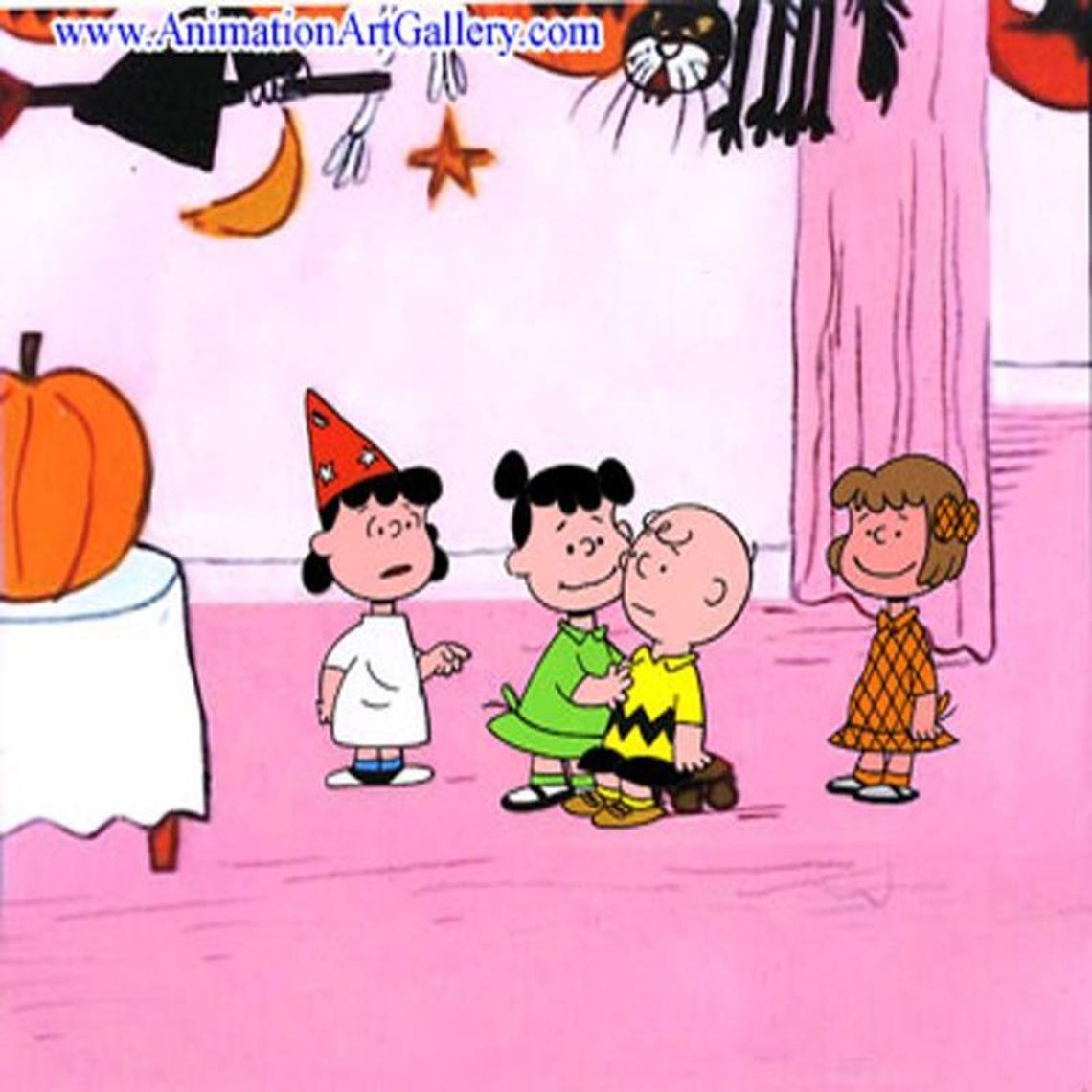 charlie brown halloween party | wallpaper | Pinterest | Charlie ...
