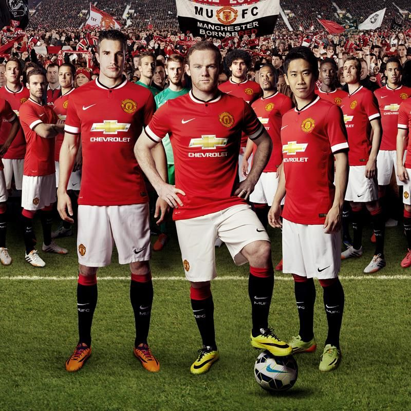Manchester United 14 15 Home Jersey Manchester United 2014 Manchester United Manchester United Shirt