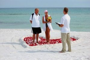 Budget Beach Weddings Tropical Destin Florida Wedding Vow