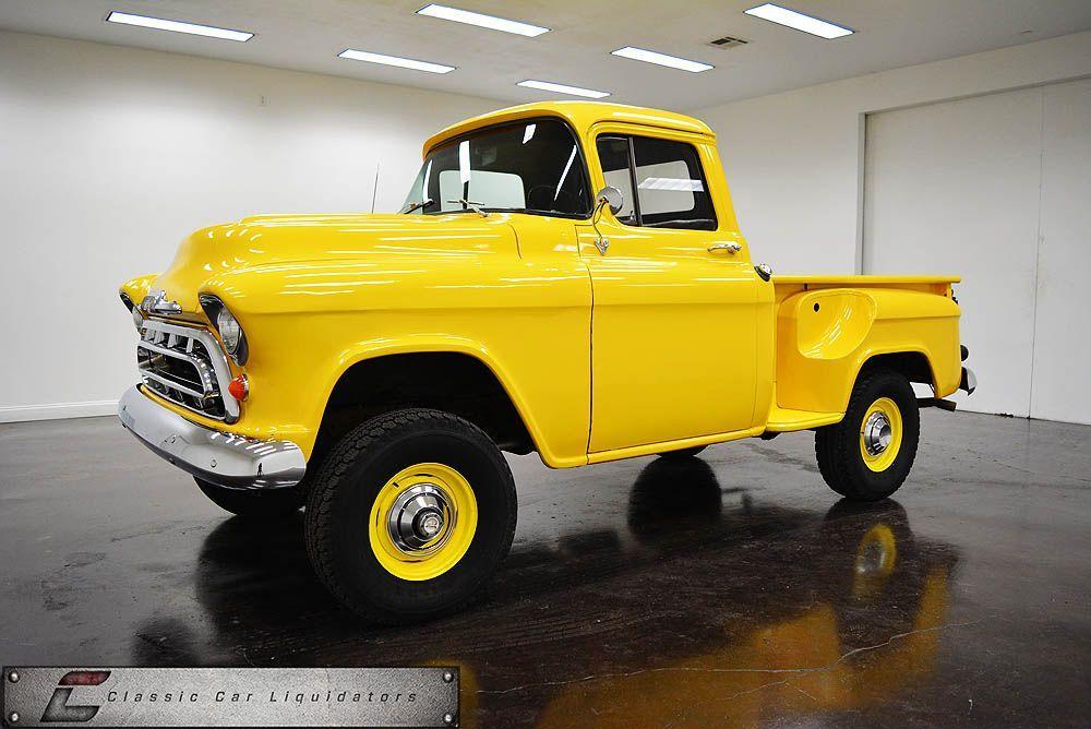 1957 Chevrolet 3100 4x4 Short Step Side Pickup Chevrolet