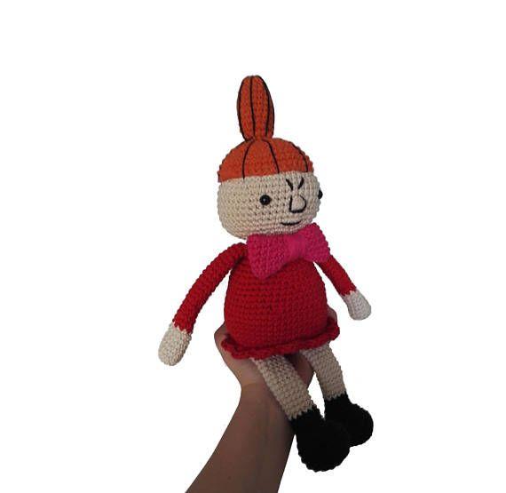 Crochet pattern LITTLE MY moomin amigurumi kawaii | Navidad ...