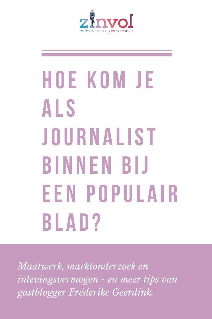 Wie kommst du als Journalist in ein beliebtes Magazin?