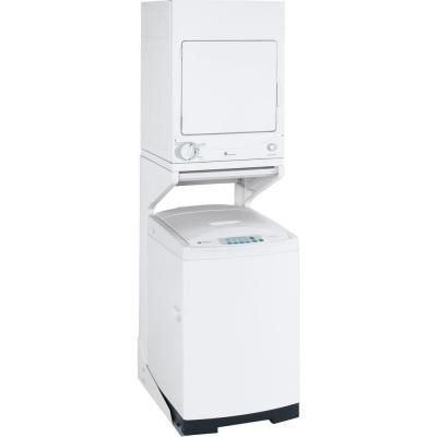 Ge 3 6 Cu Ft 120 Volt White Stackable Electric Vented Stationary