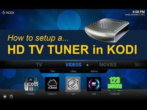 TV Tuner for KODI (FireStick too) - YouTube | Home