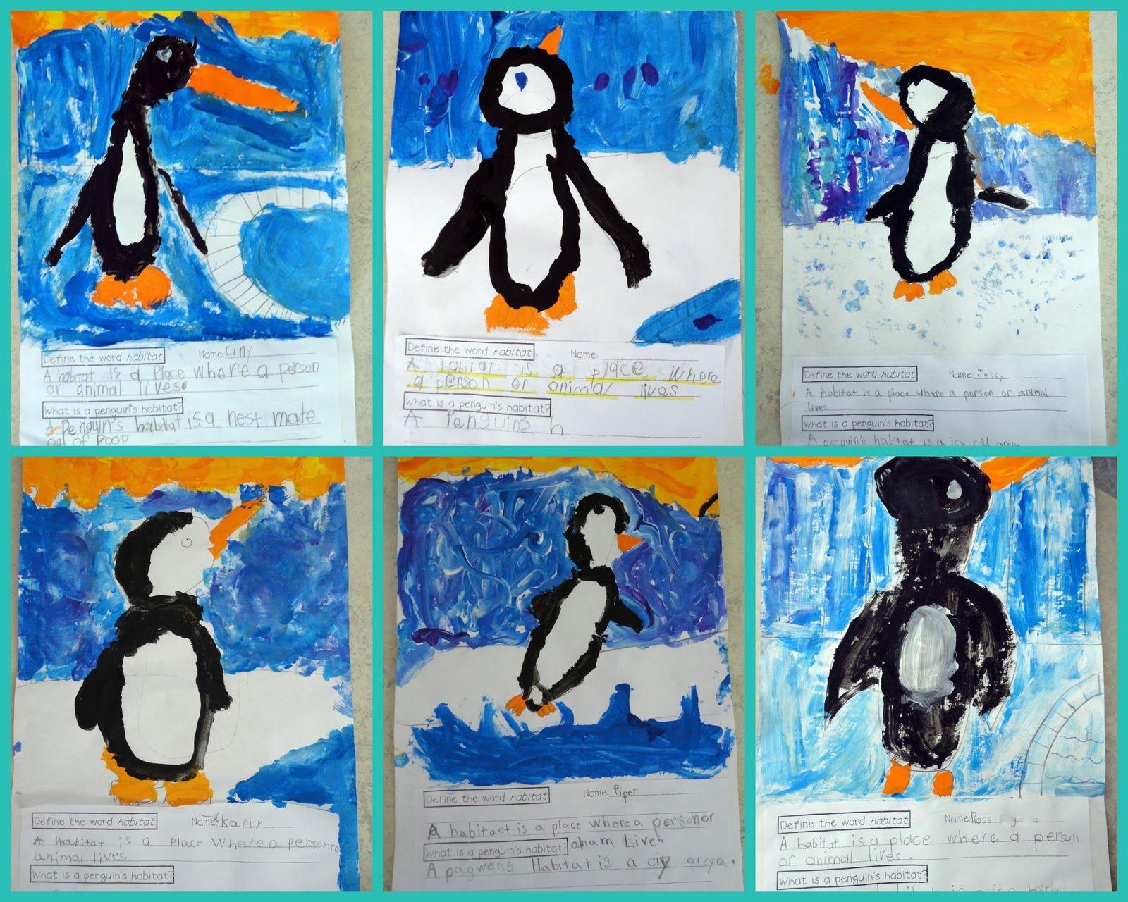 Penguin Unit For First Grade