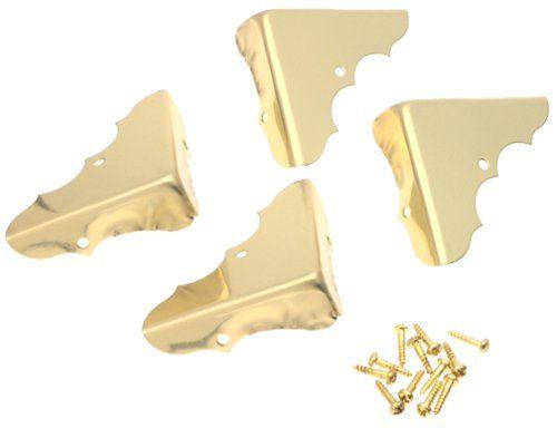 stanley hardware 1 solid brass corner amazon co uk diy tools