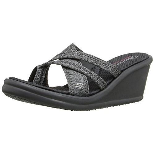skechers wedge sandals