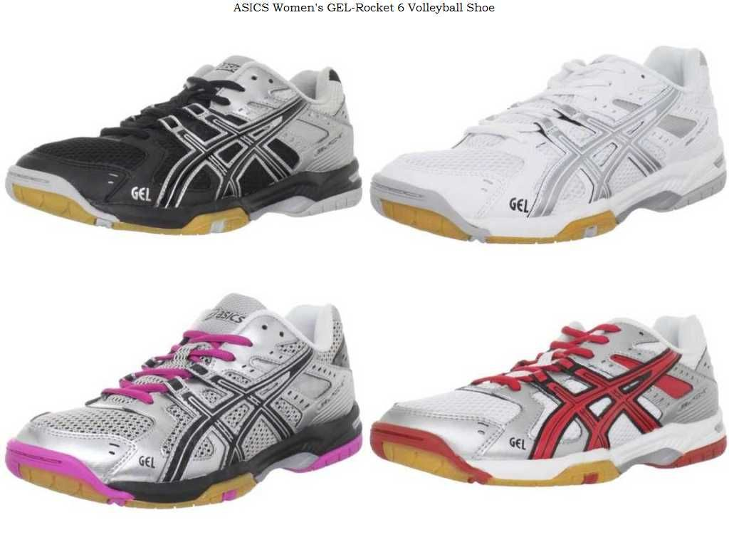 #ASICS Women's GEL-Rocket 6 Volleyball Shoe