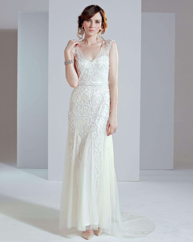 Phase Eight Elbertine Wedding Dress size 16 Ivory Vintage | eBay ...
