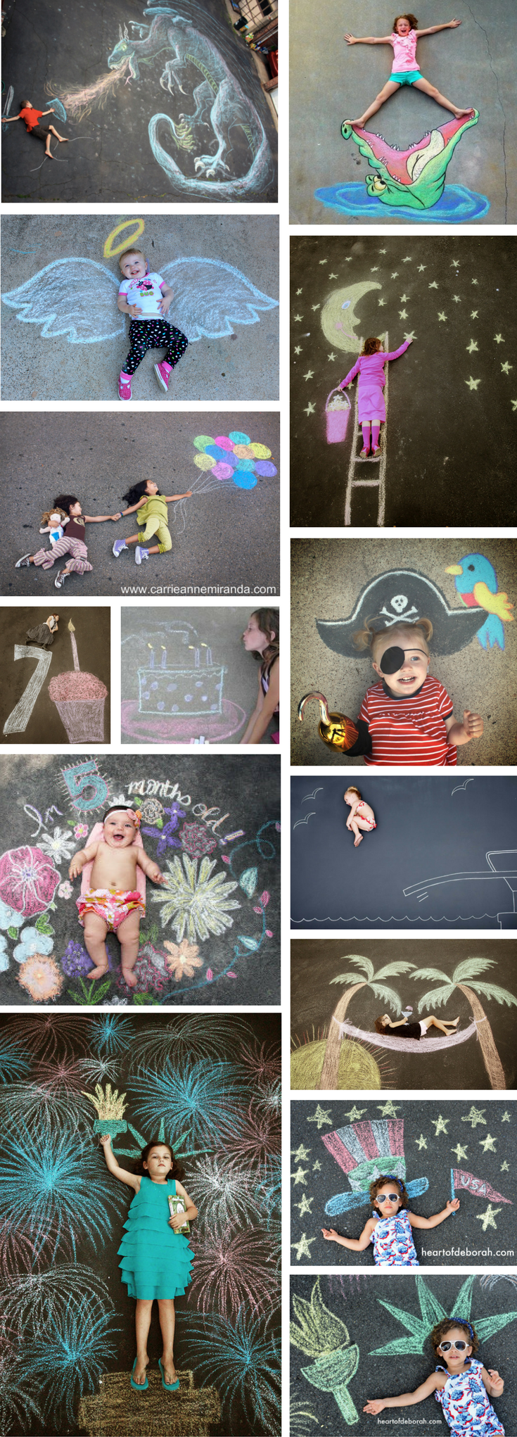101 Genius Sidewalk Chalk Ideas To Crush Summertime Boredom - what moms love
