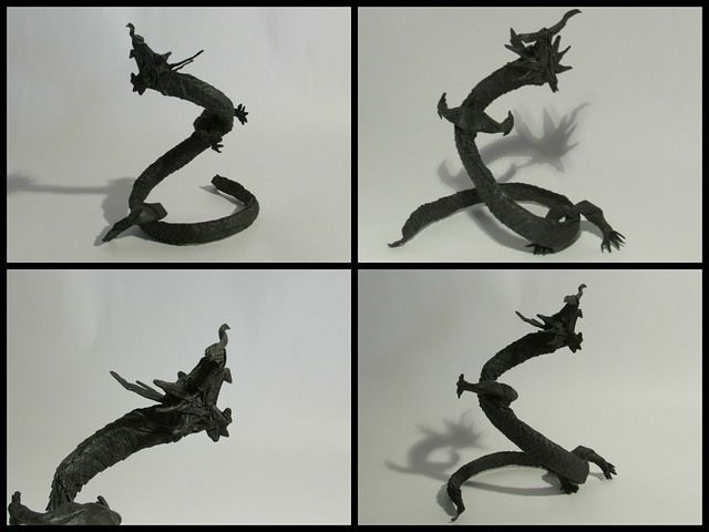 Origami Darkness Dragon 1.0 | Origami Central | 480x640