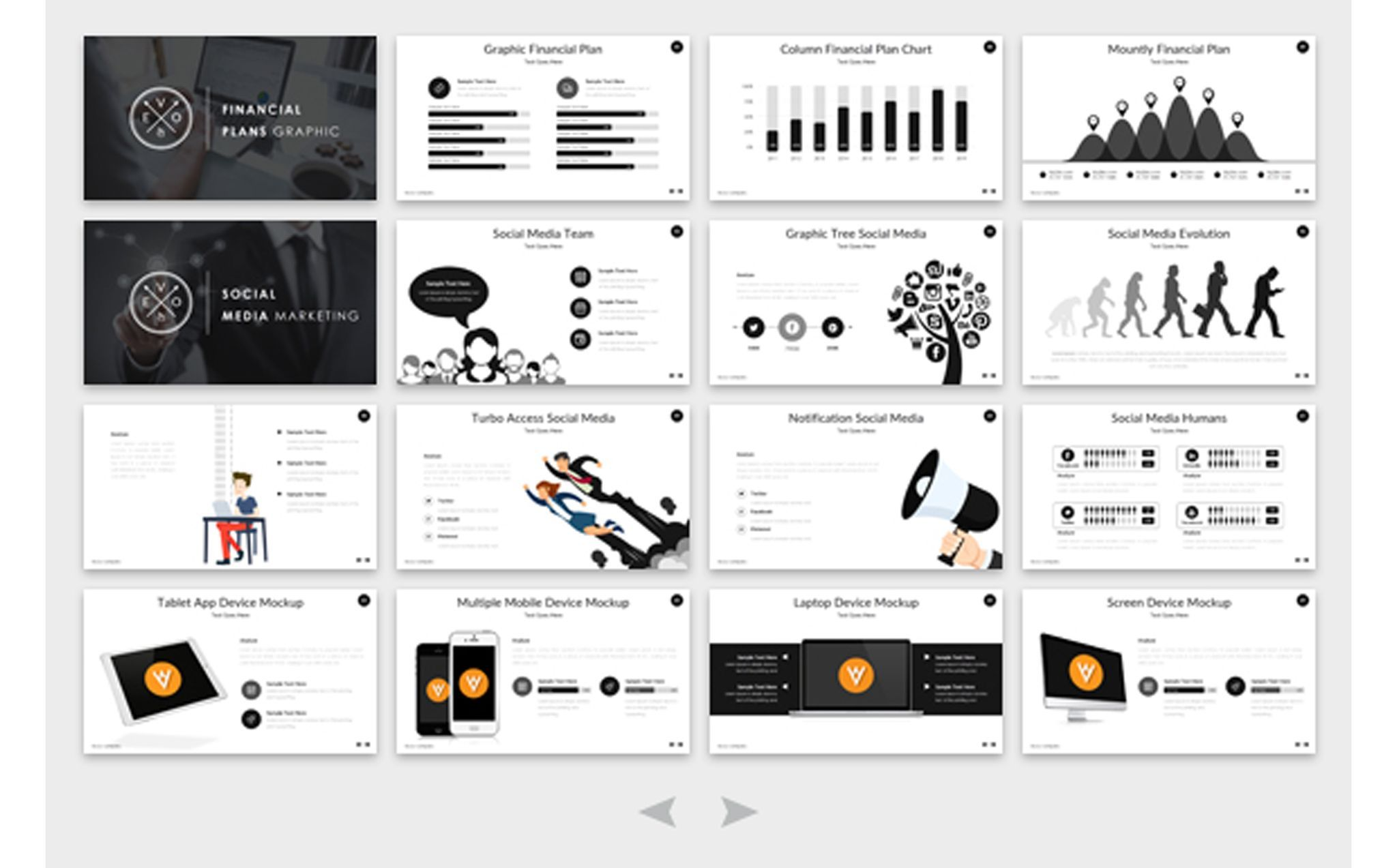 EVOLUTION - Multipurpose PowerPoint Template #65628 | Templates