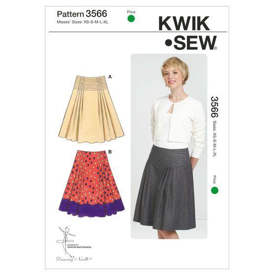 Mccall Pattern K3566 Xs-S-M-L-X-Kwik Sew Pattern | Kwik sew patterns ...