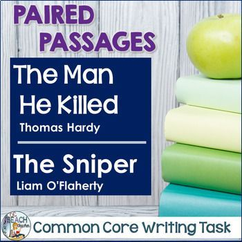 Learning English Essay Writing  Students Complete Close Readings Of The Man He Killed By Thomas Hard  And The Sniper By Liam Oflaherty Then They Write A Literary Analysis  Essay Healthy Eating Essay also Essay Writing Topics For High School Students Common Core Writing Task The Man He Killed  The Sniper  Reading  English Literature Essays