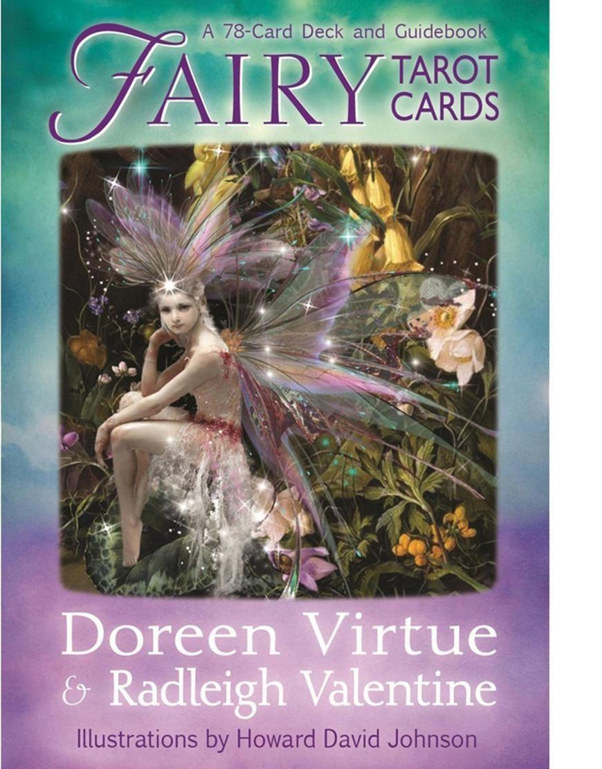 Fairy tarot cards by doreen virtue buy online worldwide