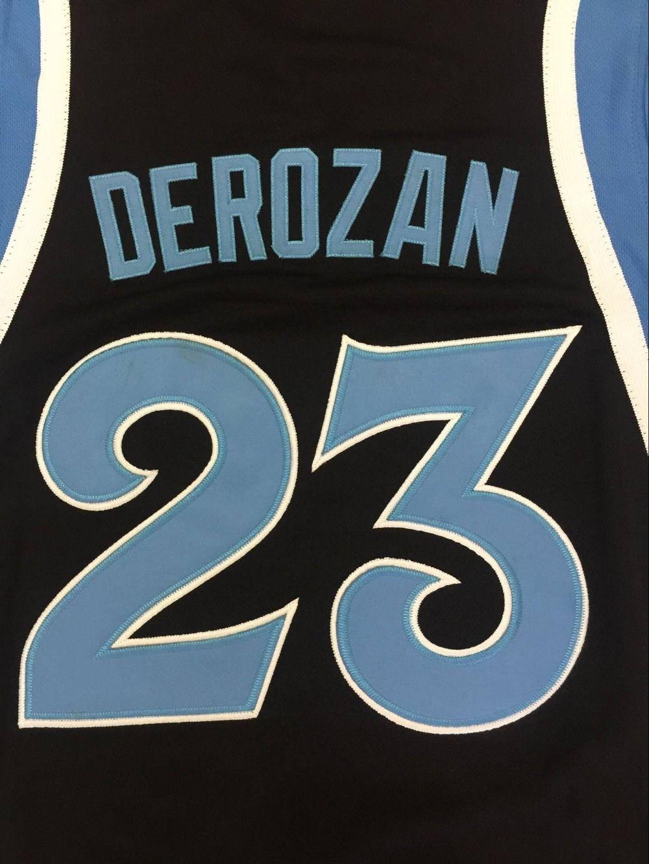 more photos 71215 e604b 23 DEMAR DEROZAN COMPTON High School Jersey Retro throwback ...