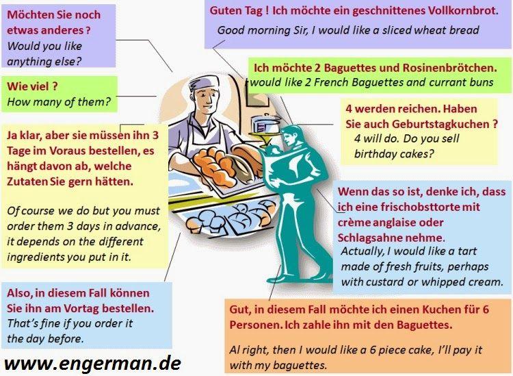 German Conversations and Dialogues Part1 Deutsch lernen
