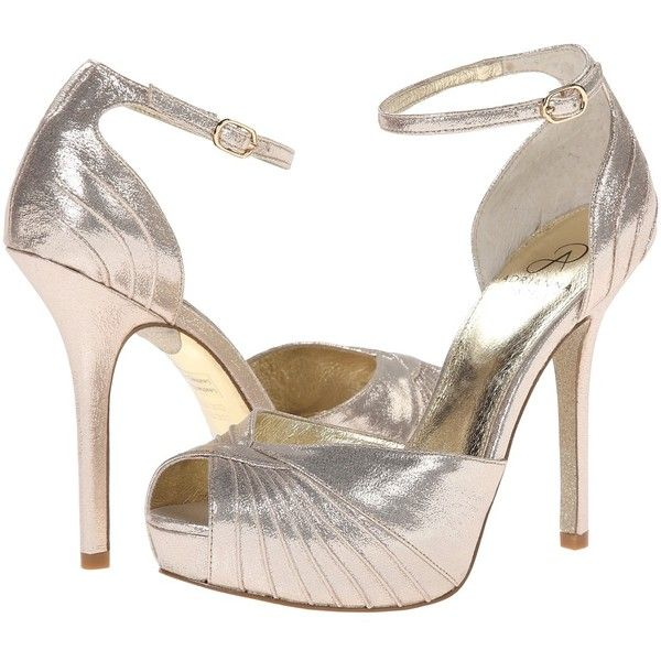 Adrianna Papell Rebecca High Heels (€110) ❤ liked on Polyvore featuring  shoes,